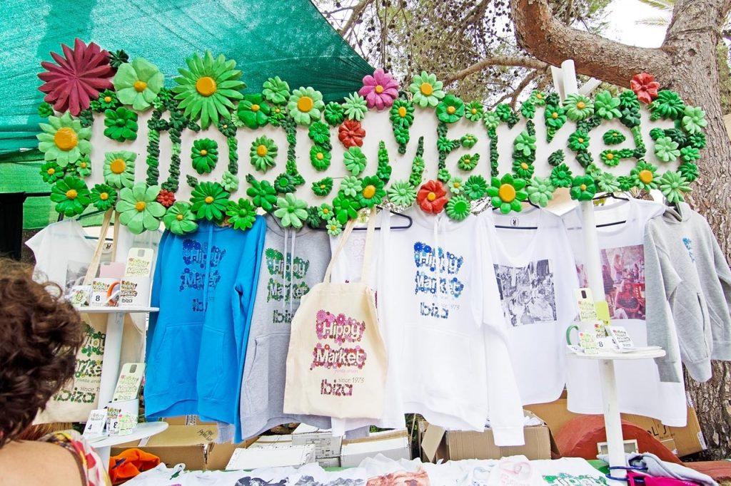 De hippiemarkt op Ibiza