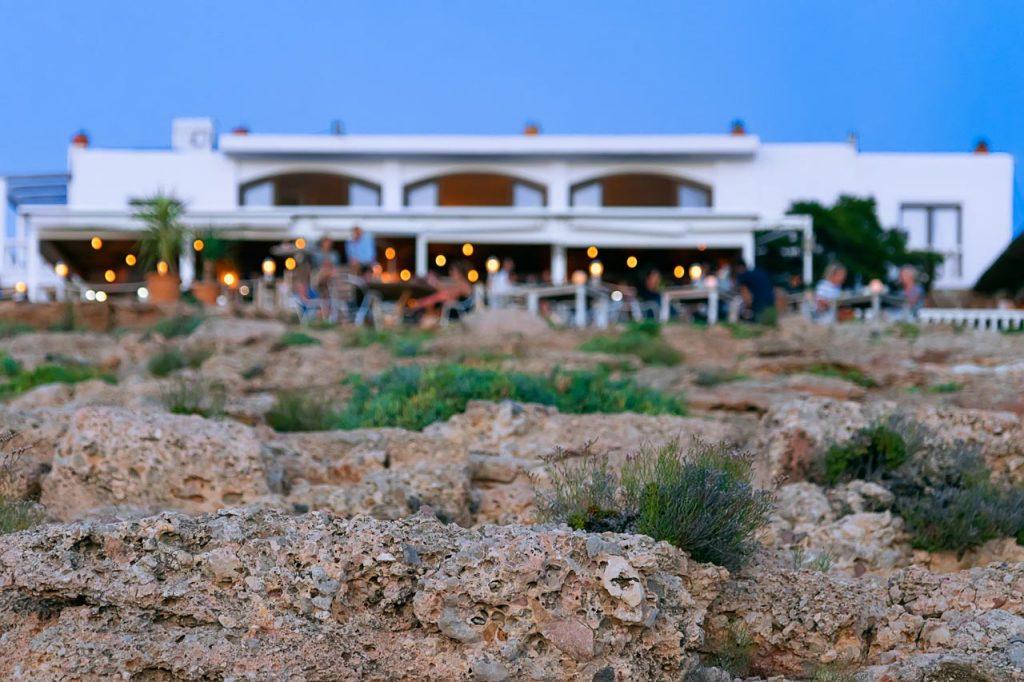 Een hapje eten op Ibiza