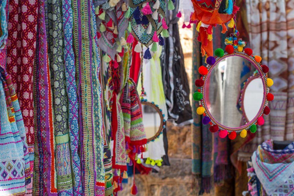 Shoppen is een feest op Ibiza